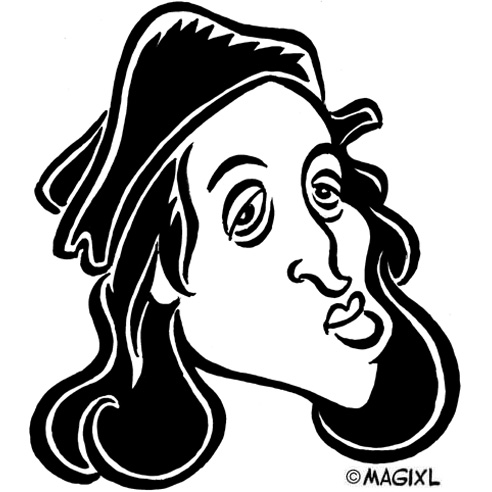 caricature Rafaello
