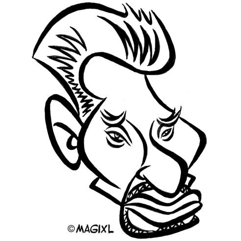 Caricature De Personnalites Francaises