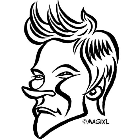 david beckham clipart all about clipart Ray-Ban RB3025 david beckham source caricature of european football players